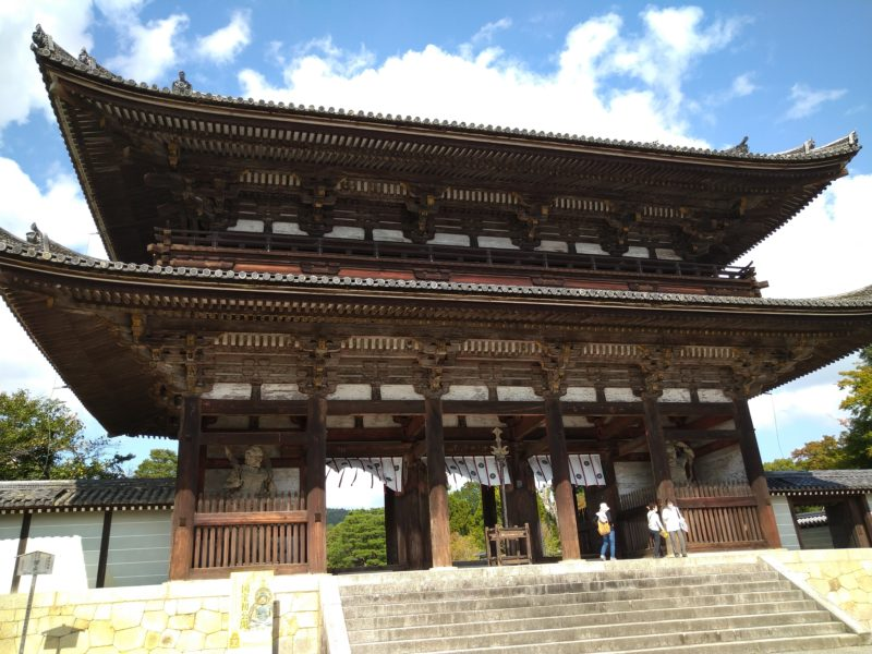 仁和寺の仁王門2