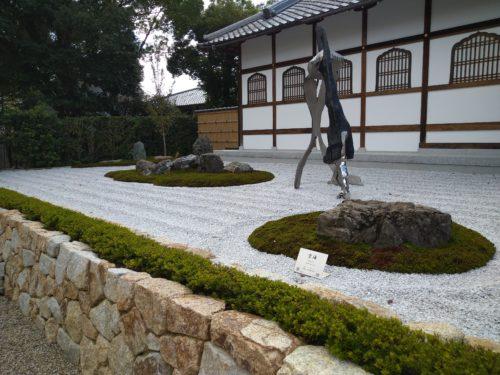 仁和寺の石庭