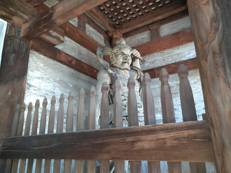 仁和寺の金剛力士