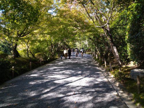 龍安寺 入り口