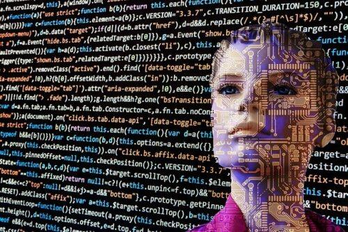 人工知能の女性