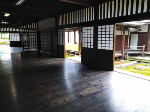 妙心寺の屋内1