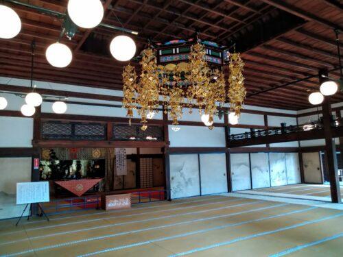 妙心寺の屋内2